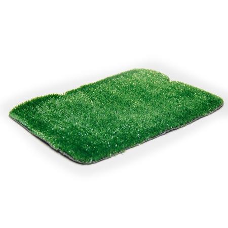 05 mm Düz Yeşil Çim Halı