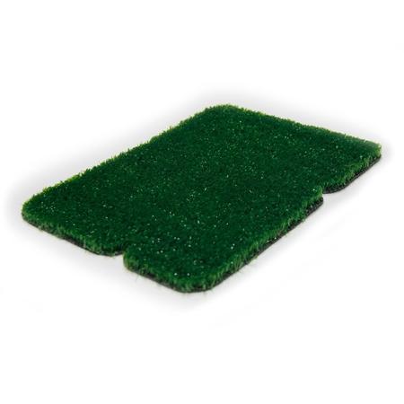 08 mm Düz Yeşil Dekorasyon Çim Halı