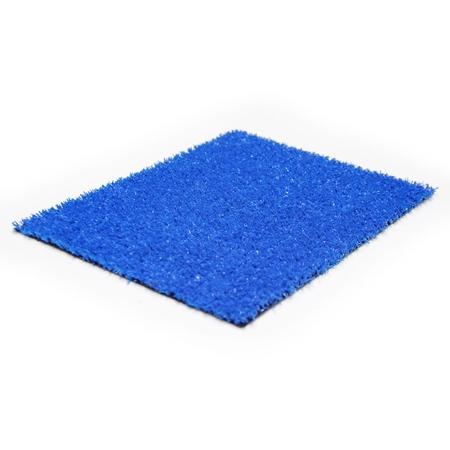 Flat 8 mm Mavi Çim Halı