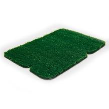 10mm Düz Yeşil Dekorasyon Çim Halı